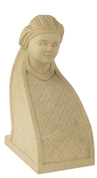 tête  sculptée décor 6