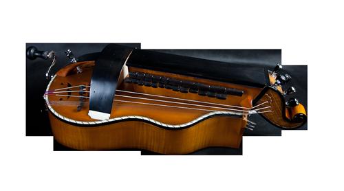 vielle à roue plate - décor épuré -  Atelier Boudet