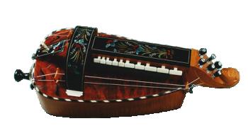vielle à roue plate - décor n°4 -  Atelier Boudet