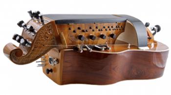 vielle à roue plate - Alténor -  Atelier Boudet